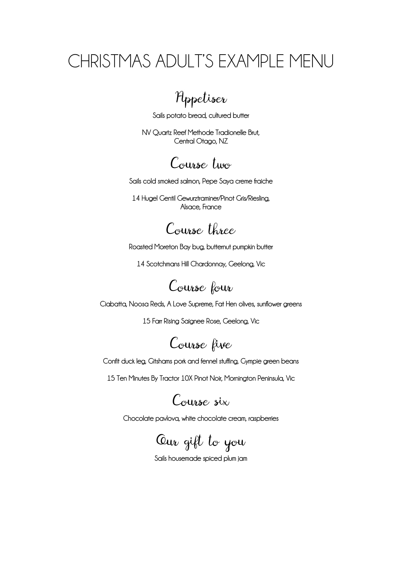 CHRISTMAS ADULT example menu-1