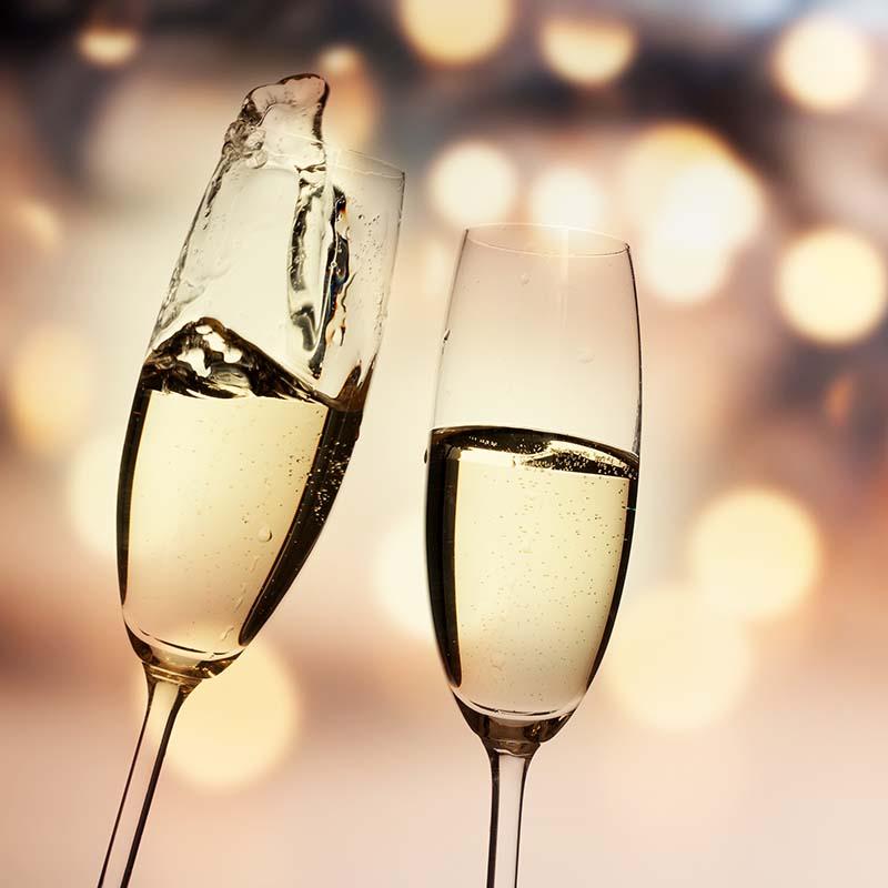 NYE - Champagne Glasses