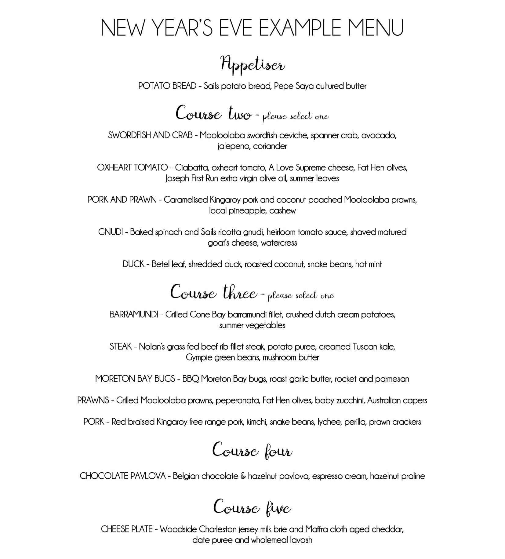 New Years Example Menu-1