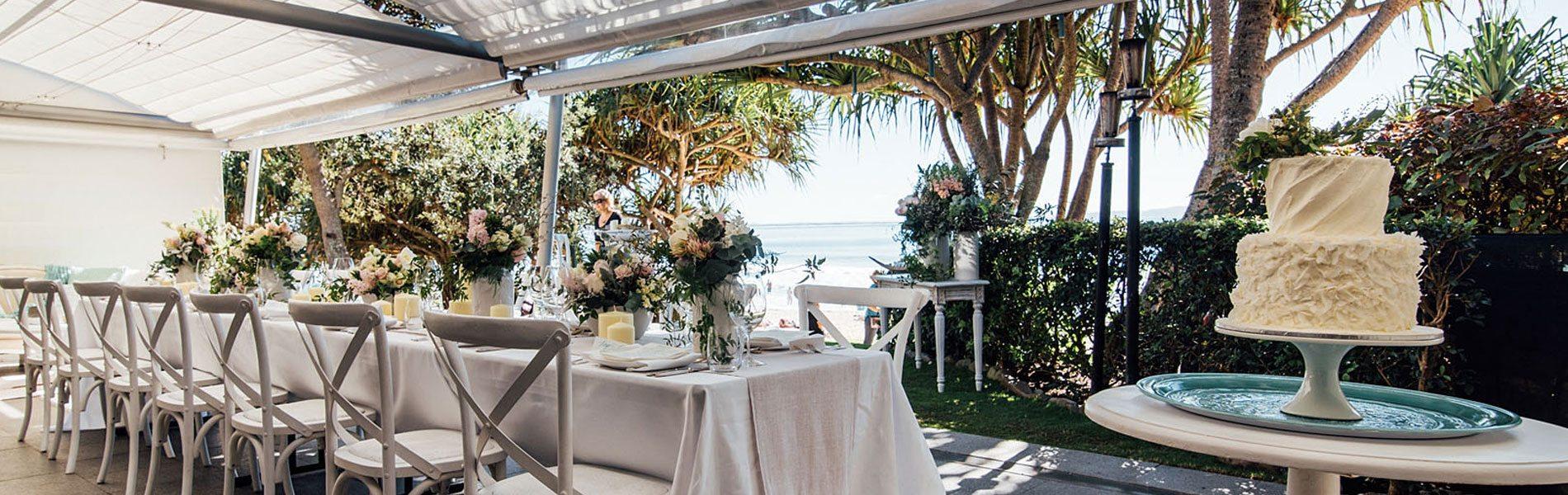 Noosa Beach Wedding Gallery Sails Restaurant Noosa Beachfront Qld