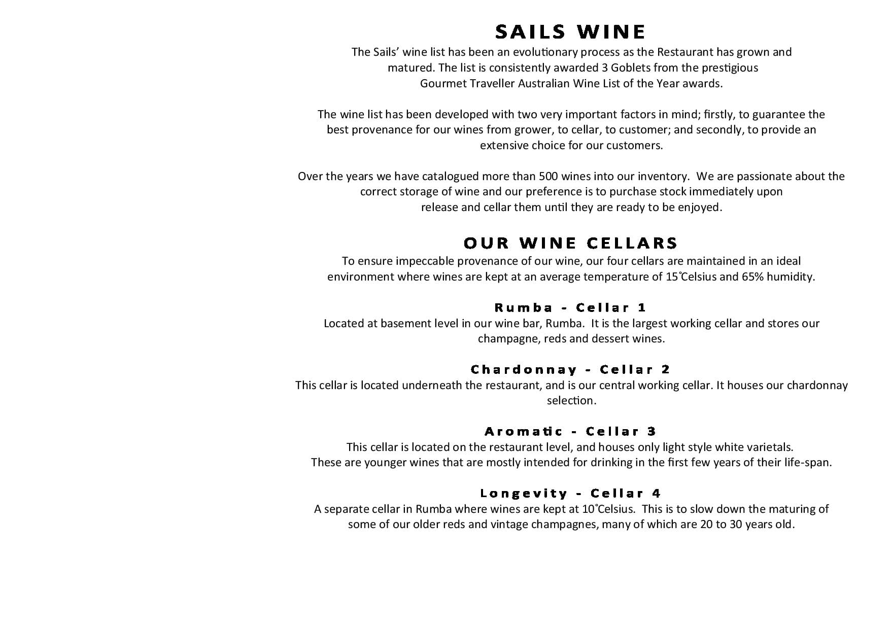 Sails Wine List 2019 Page 003