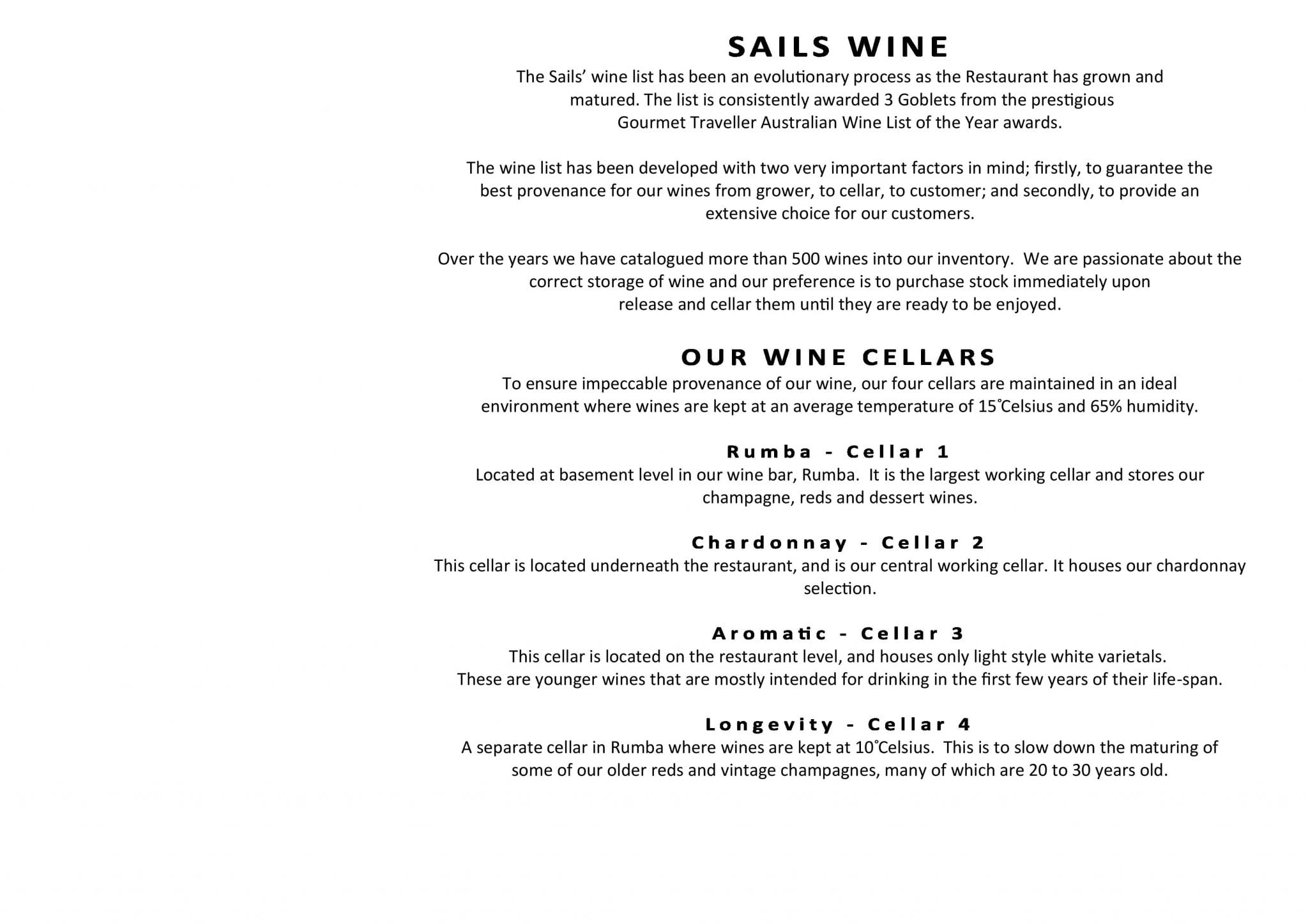 Sails Wine List 2019 Page 003
