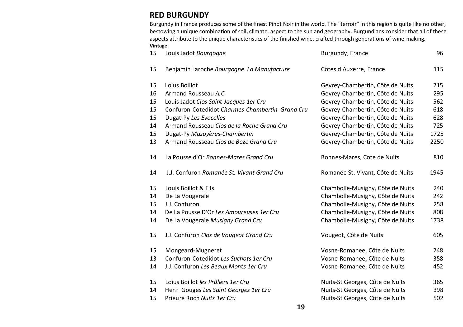Sails Wine List 2020 Page 019