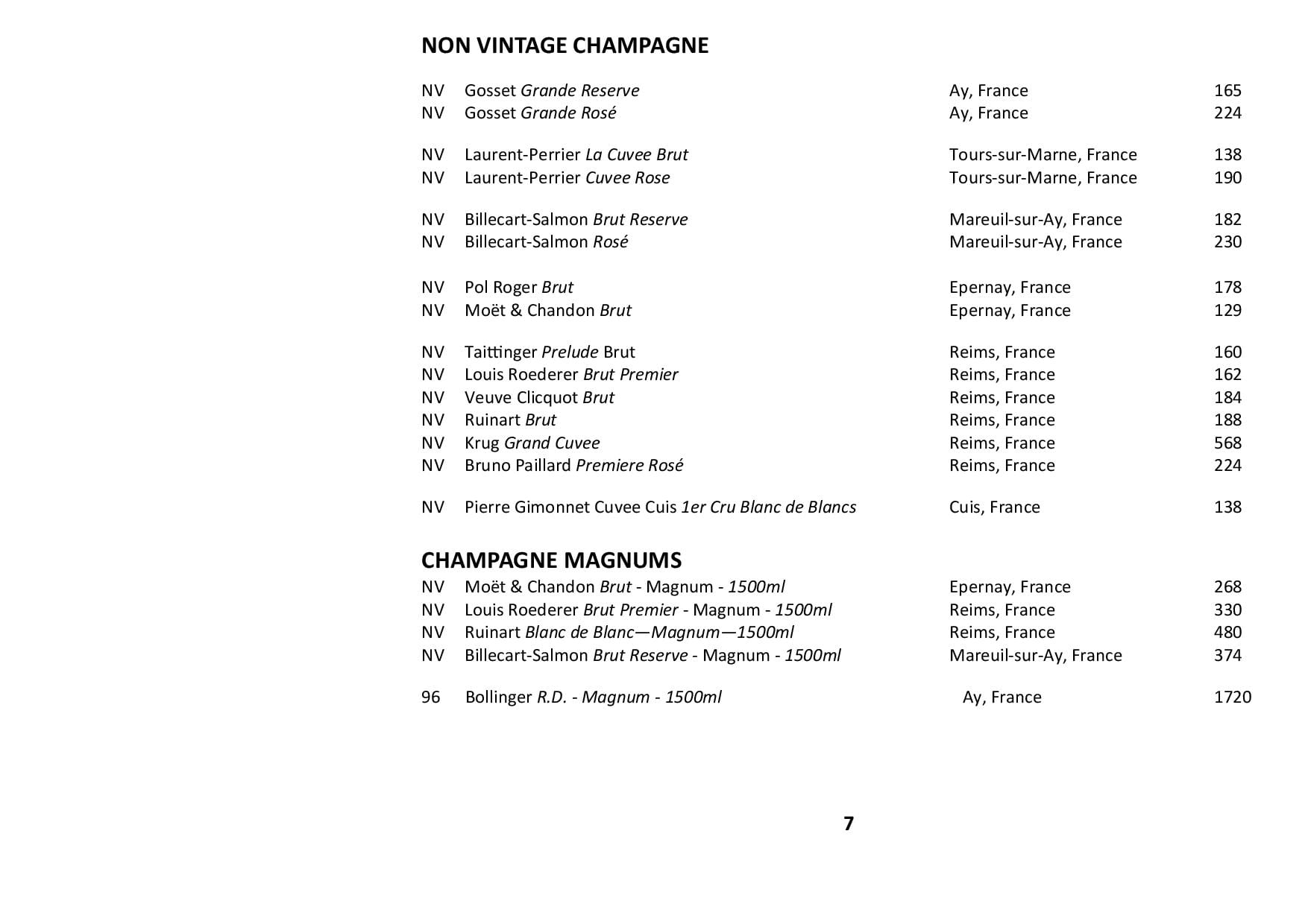 Sails Wine List Jan 2021 Page 005