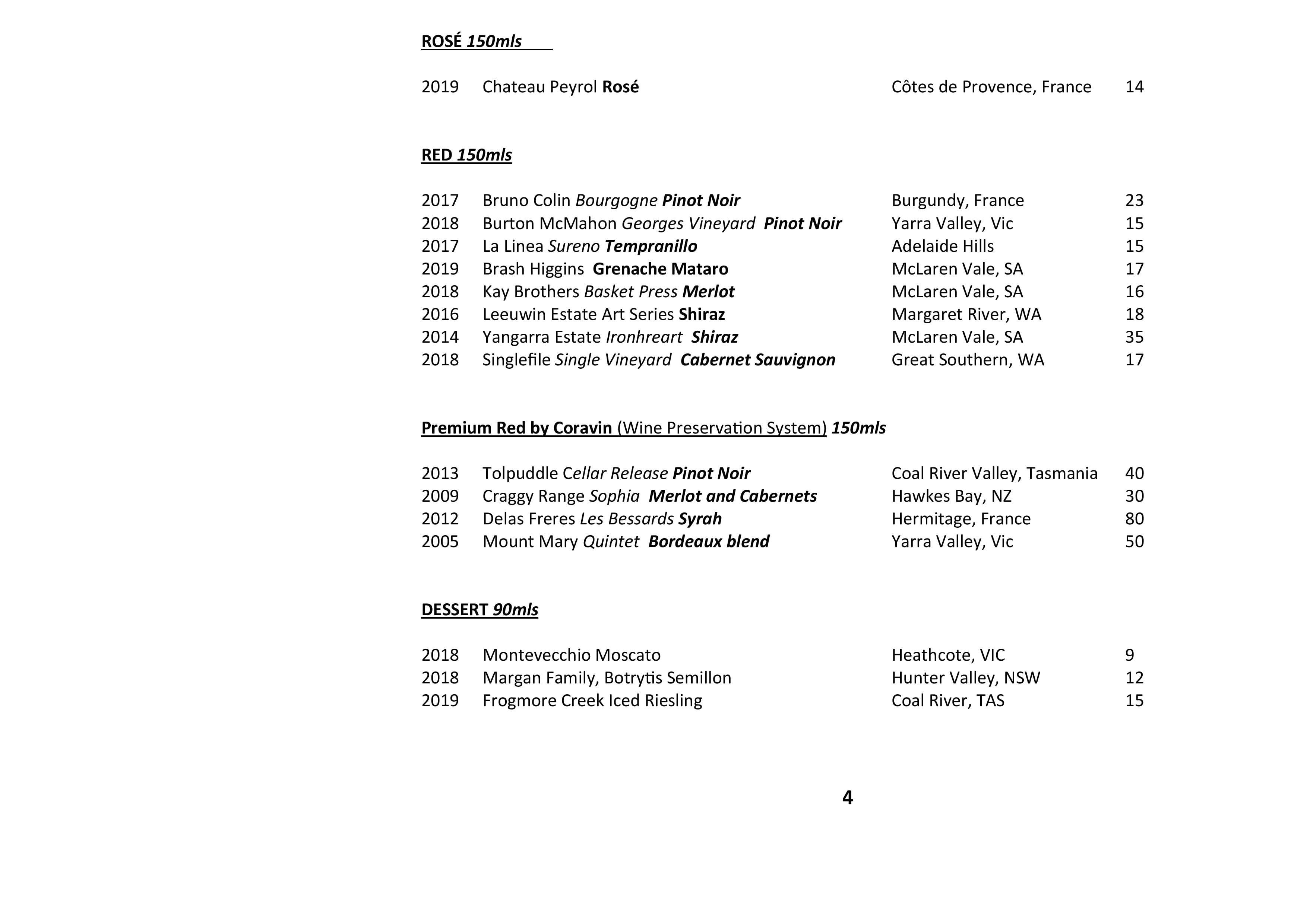 Sails Wine List 2021 Page 004
