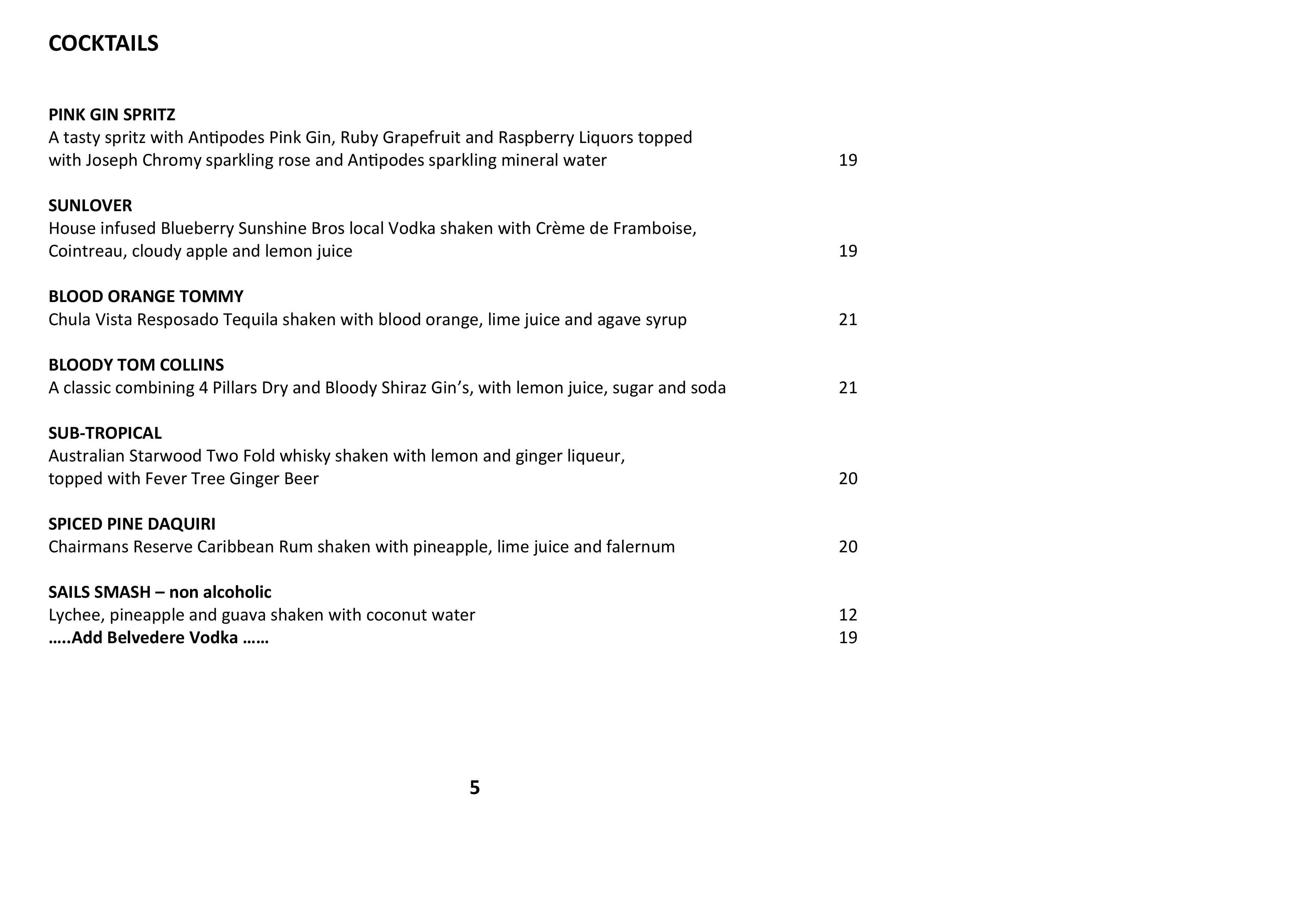 Sails Wine List 2021 Page 005