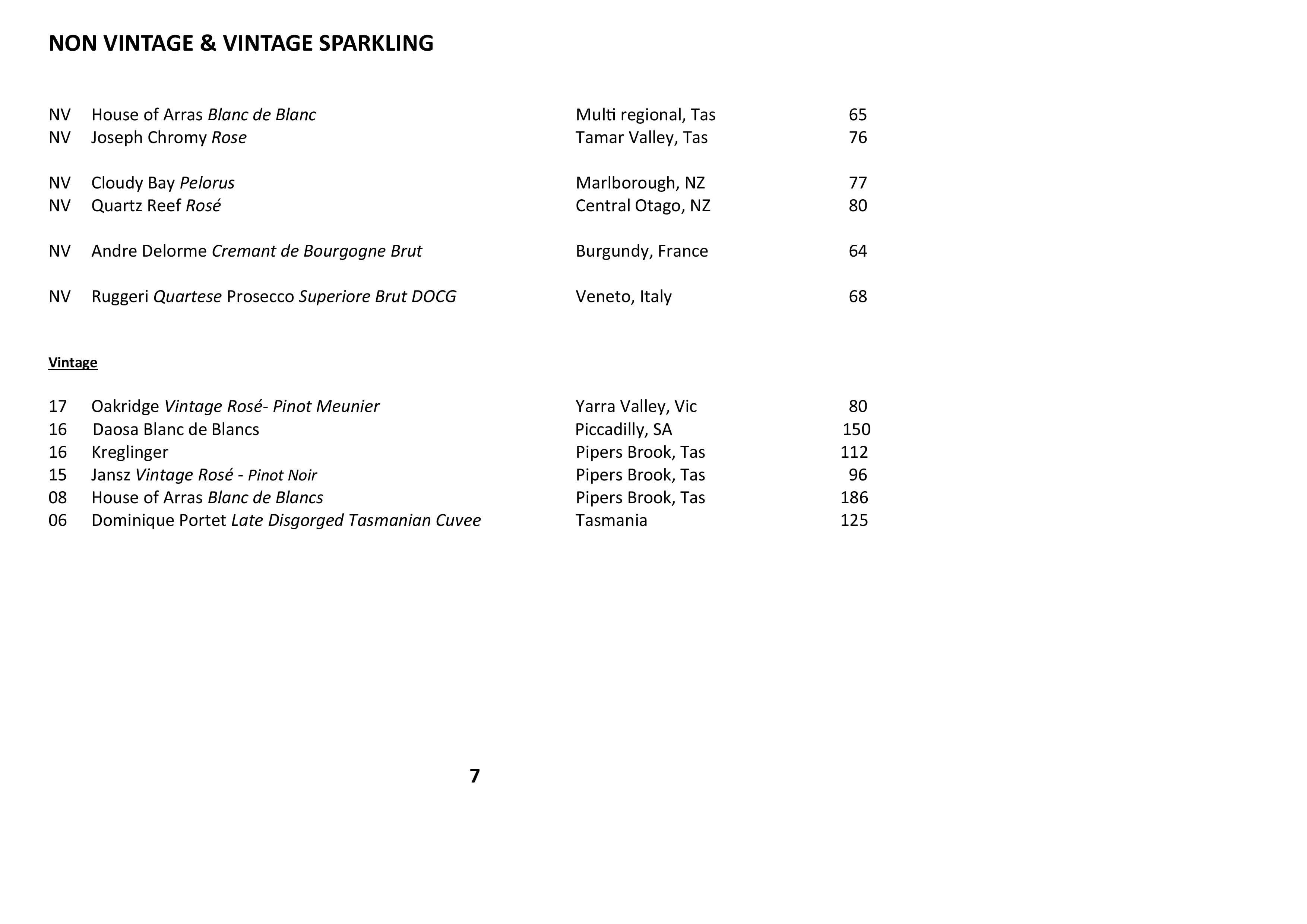 Sails Wine List 2021 Page 007