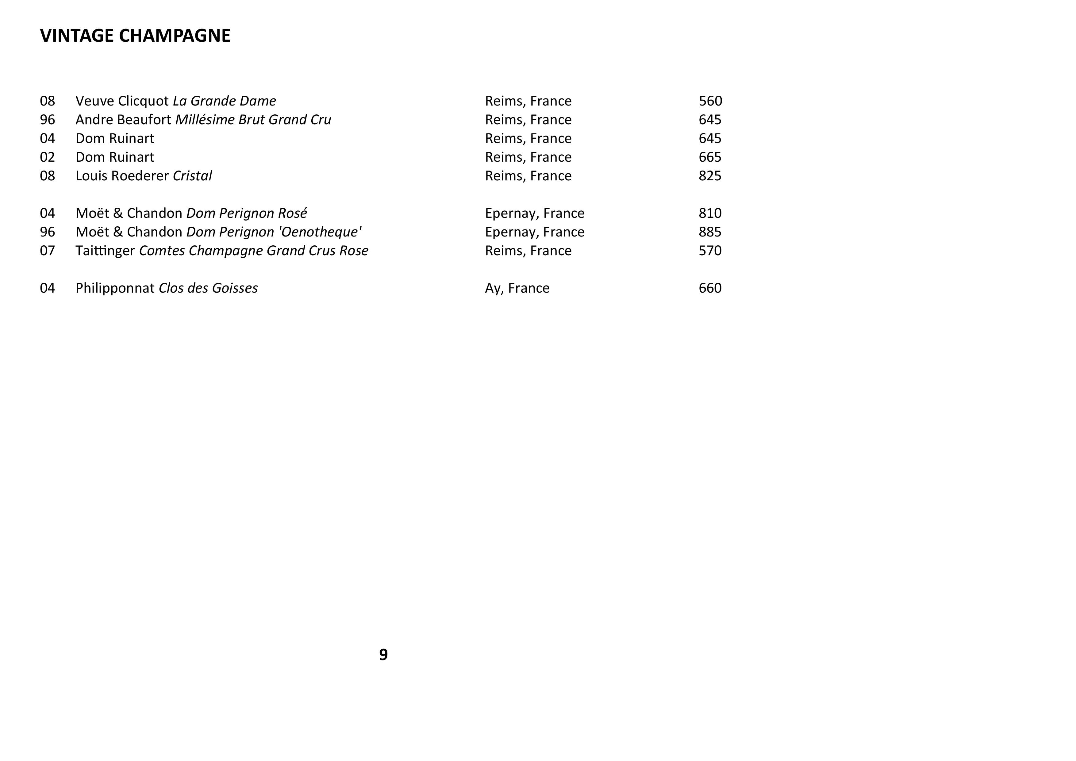 Sails Wine List 2021 Page 009