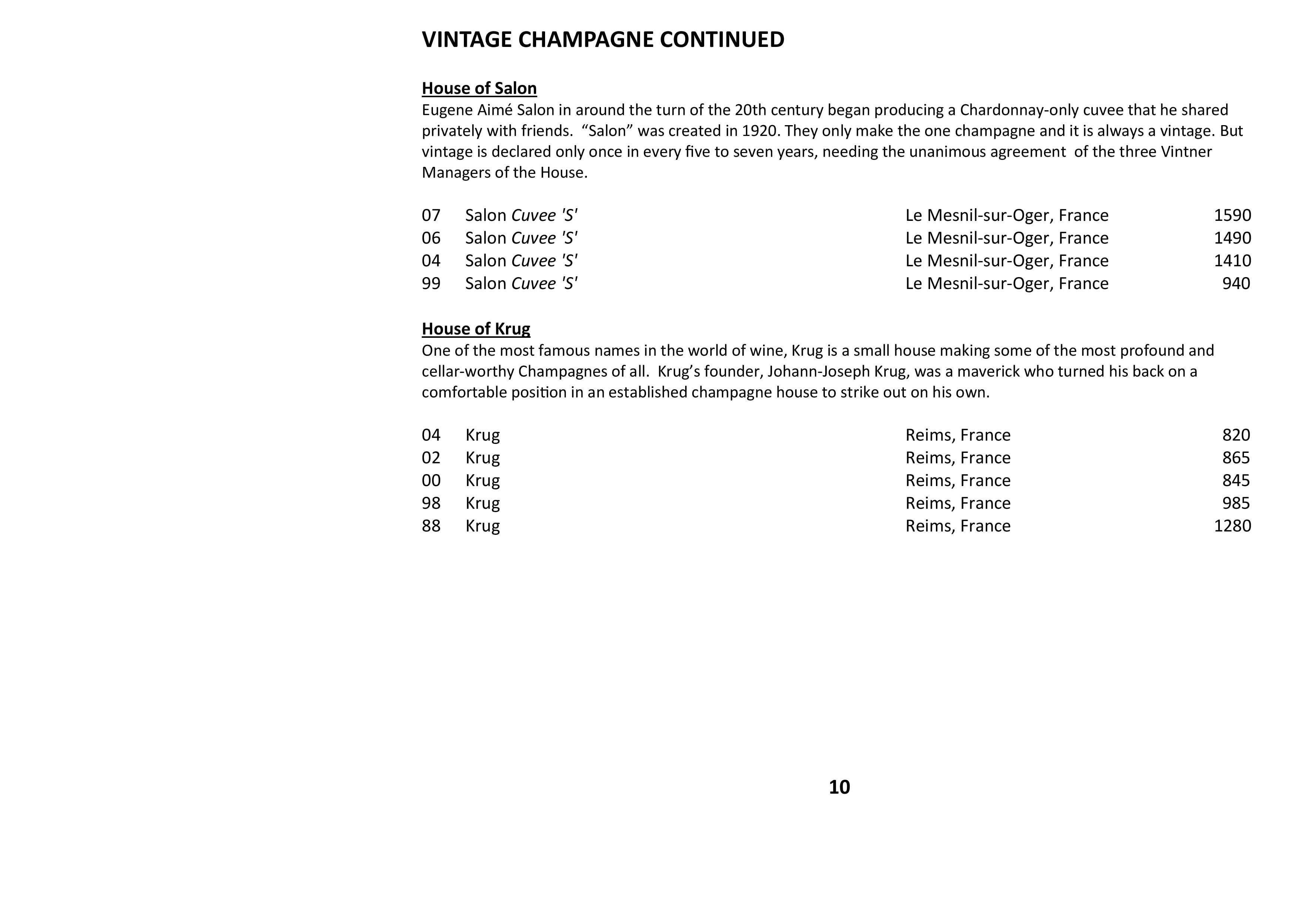 Sails Wine List 2021 Page 010