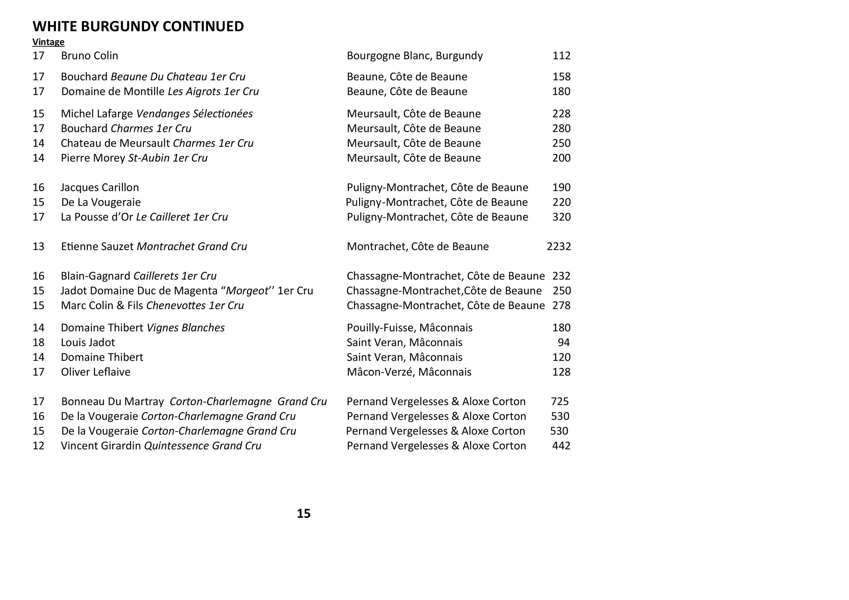 Sails Wine List 2021 Page 015