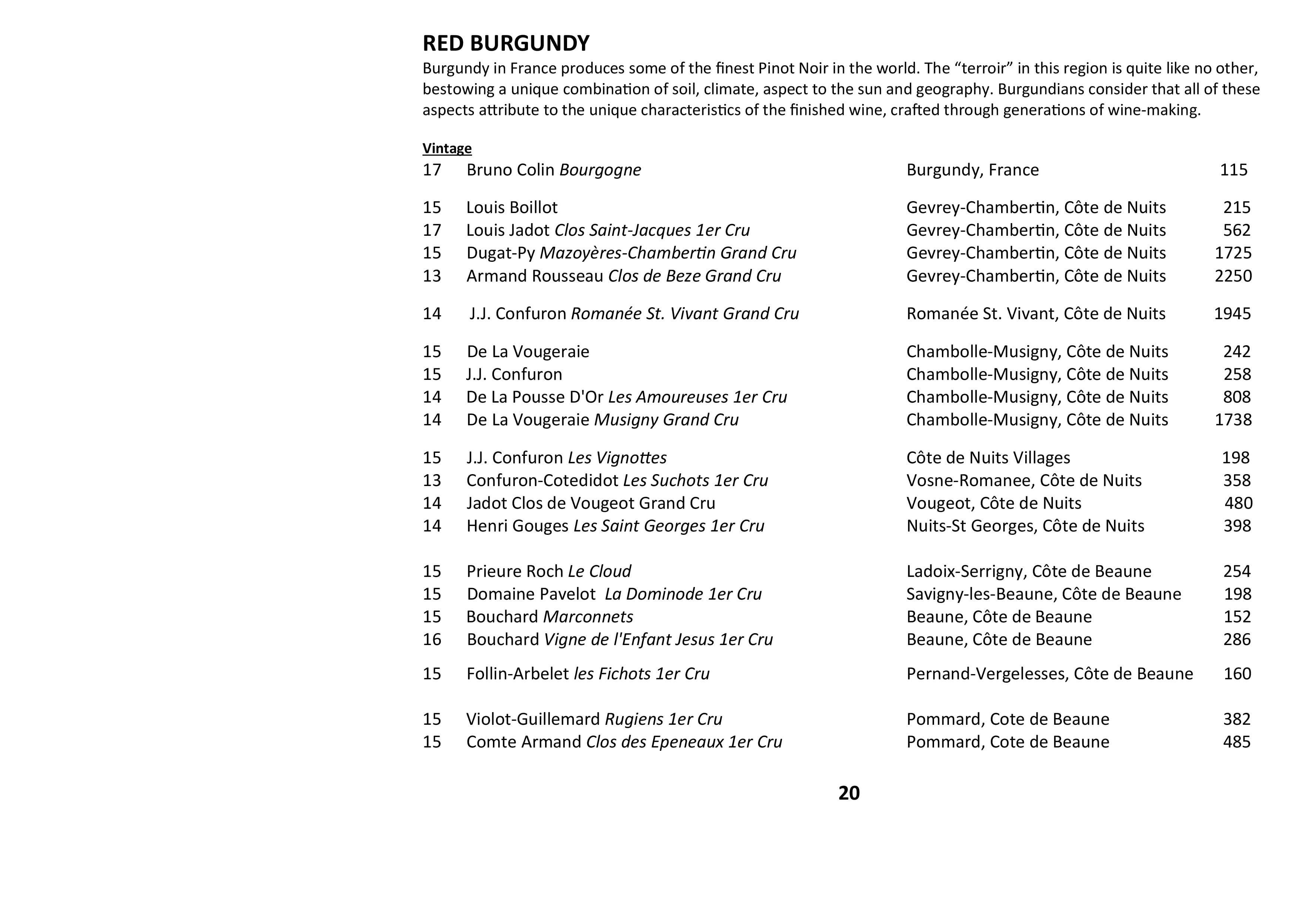 Sails Wine List 2021 Page 020