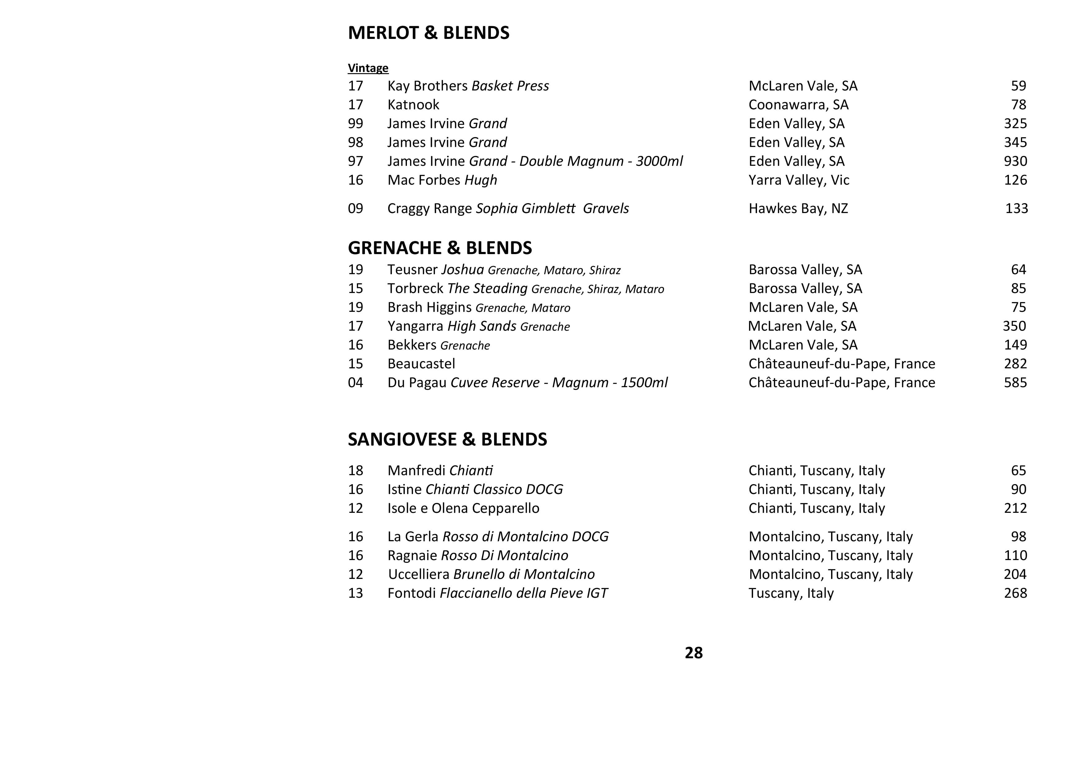 Sails Wine List 2021 Page 028