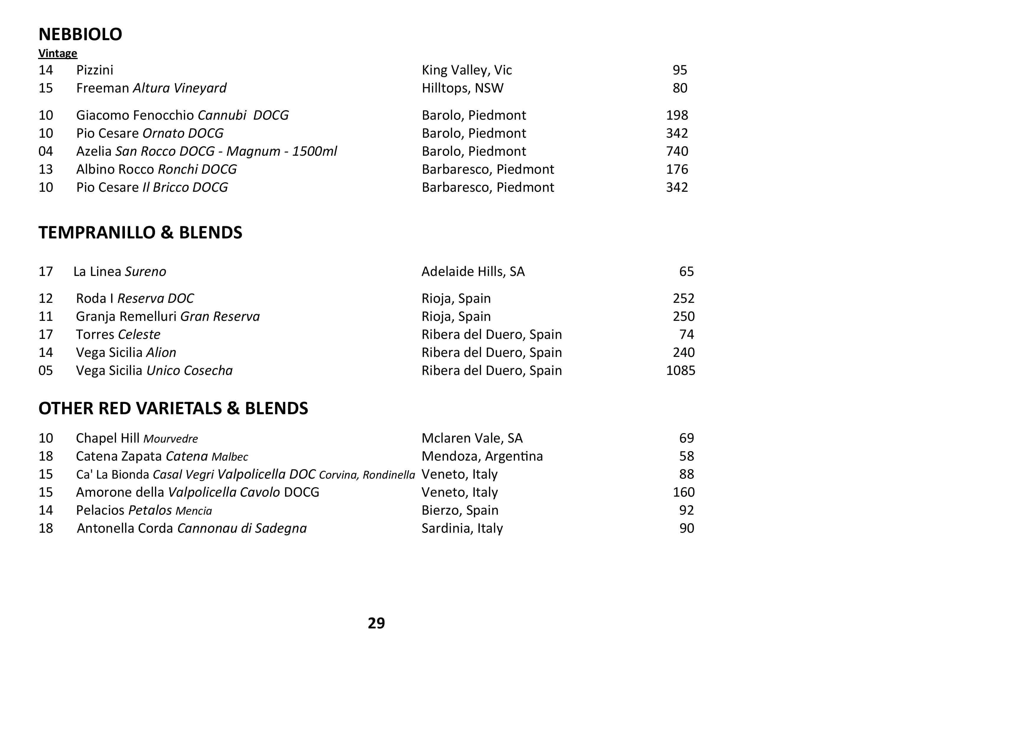Sails Wine List 2021 Page 029