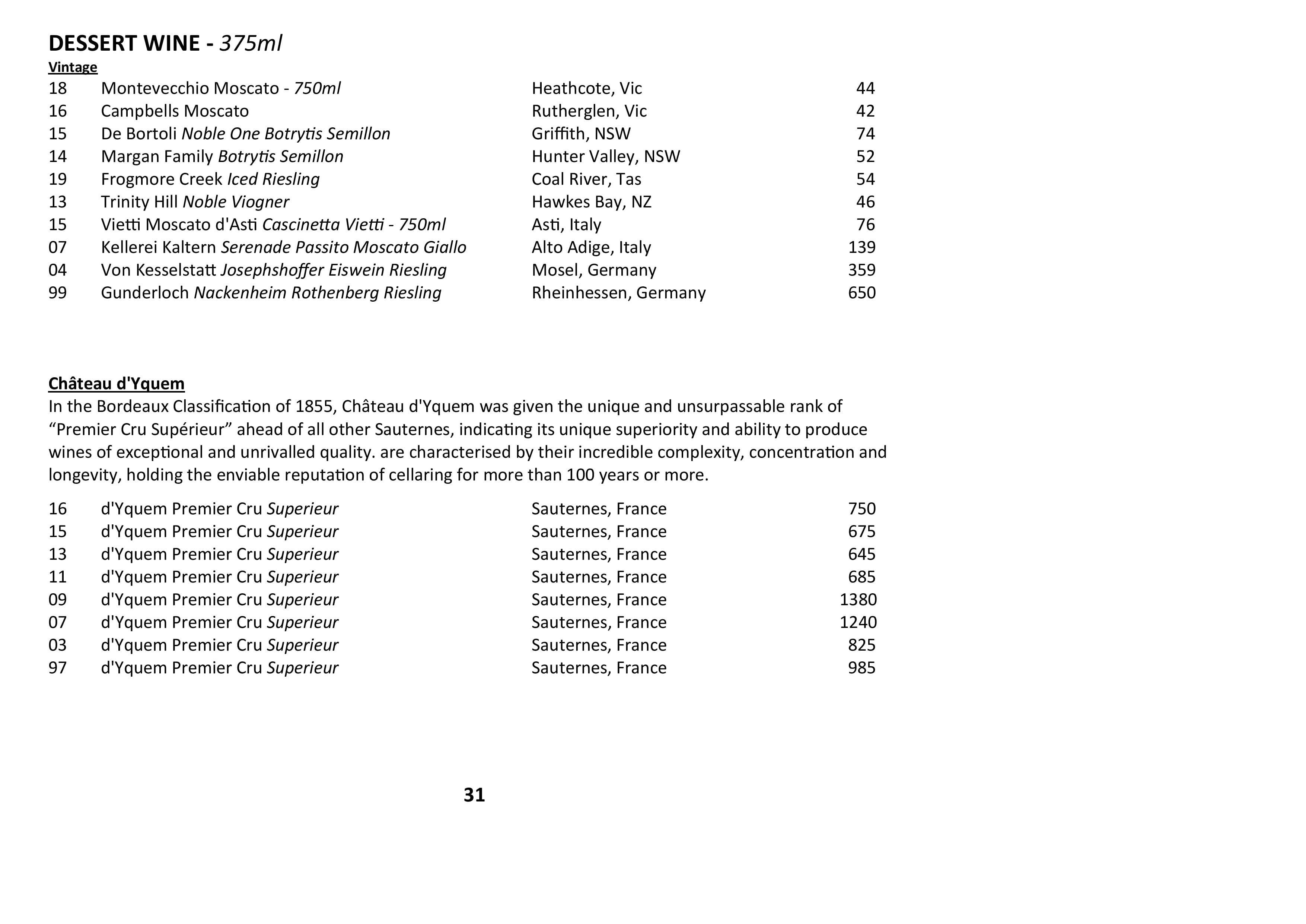 Sails Wine List 2021 Page 031