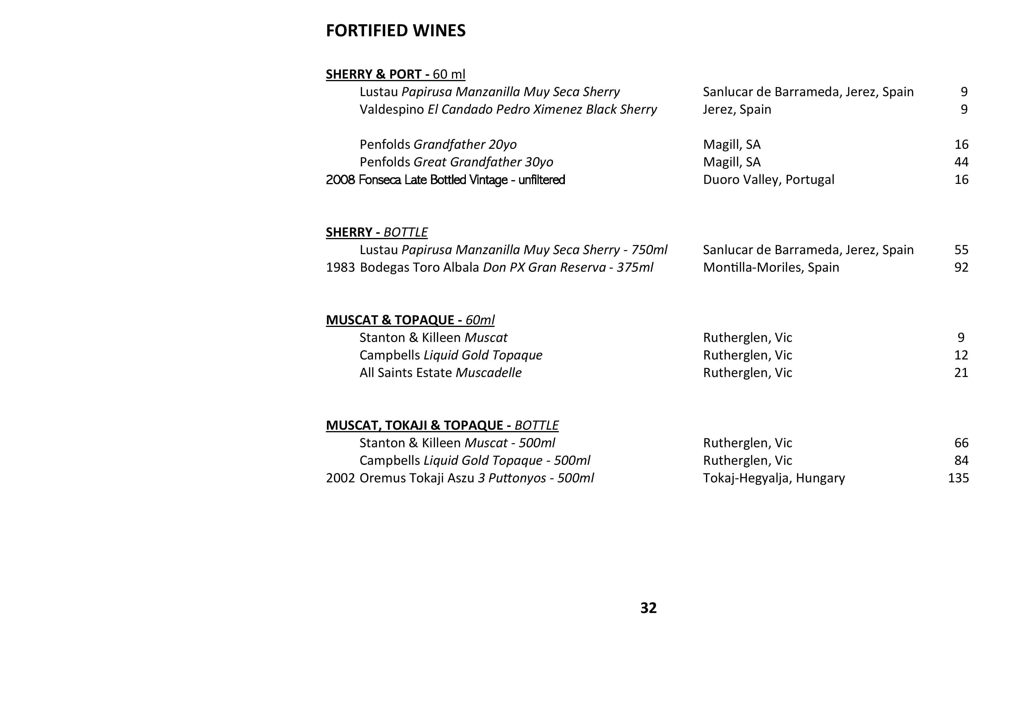 Sails Wine List 2021 Page 032